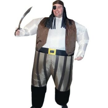 надувной костюм пирата