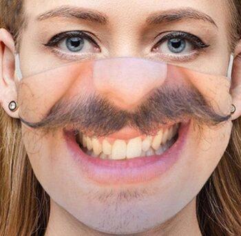 маска на лицо защитная
